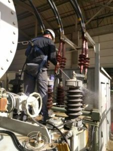 Magnesium transformer cleaning